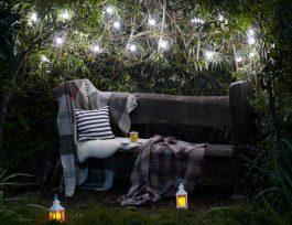 Как спланировать освещение вашего сада