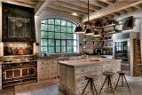 Кухня в загородном доме  — 7 вариантов дизайна