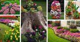 Основные принципы дизайна и стили для садовых клумб
